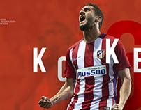 Redesign concept Atlético de Madrid Web Site