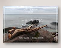 Postcard - Adam Bolton Yoga; My entry for his contest.