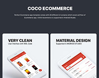 Ecommerce UI KIT with android Source Code