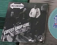 The Prince Regents 'Coffee Shop Girl' CD package