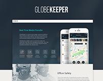 GlobeKeeper | Landing Page