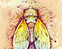 《蝉》cicada