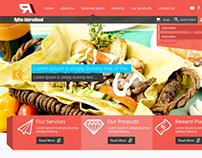 Rythem Int - Creative Flat Web Design