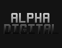Free Alpha Digital Typeface