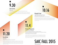 Typography | Architecture lecture poster