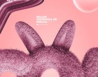 FREEBIE - SELO PÁSCOA 3D