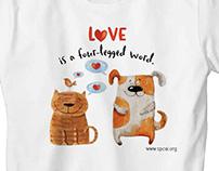 SPCAI T-shirts