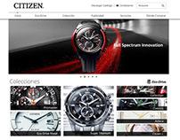 Citizen México - Página Web