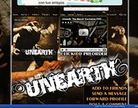 Unearth Myspace Design