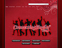 Connecting Singles Myspace Design