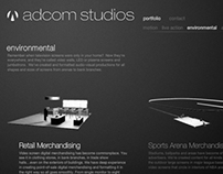 Adcom Studios website