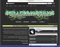 Strategic Sonics Myspace Design