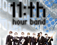 11th Hour Band Flyer
