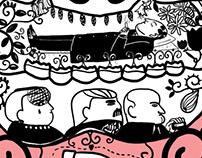 'Miasto w Teatrze' illustrated book