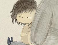 I wanna a cat like Totoro