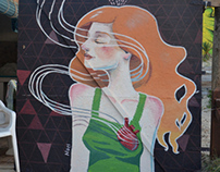 2nd Streetart gathering Aguas Dulces, Uruguay Marzo 201
