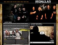 Ironclad Recordings Website