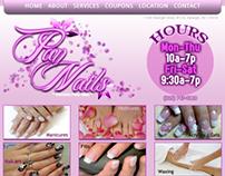 Pan Nails Website