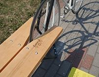 Bike stand - bench