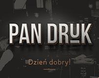 Pan Druk - Printing house branding