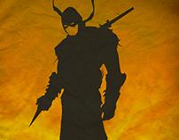 Mortal Kombat character posters