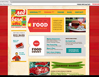 Web Design_Red Barn Flea Market and Plaza