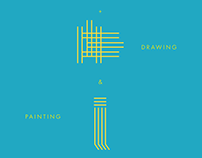 Sculpture, Drawing, Painting Exhibition Poster