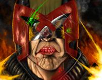 Judge Dredd VS Predator