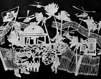 Paper Cut-Out: Haiti Earthquake