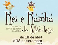 """Design de Comunicação - """"Rei e Rainha do Mondego"""""""