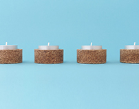 CC // Cork Candle