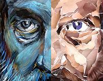 Alan Moore / Portraits