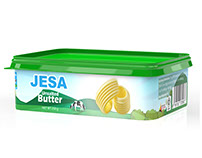 JESA Butter Packaging Design