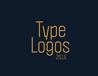 Type Based Logos 2015
