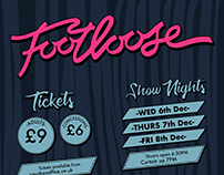 Footloose Poster + Programme