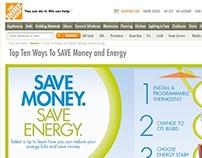 Home Depot - Website Designs