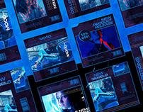 Cyberpunk Instagram Posts & Stories