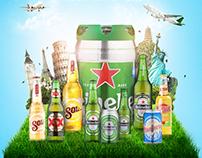Encarte Verdemar | Heineken