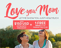 Email Campaign | Royal Holiday | Love you Mom