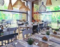 Sunny Cafe Design