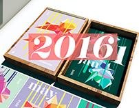 //2016 Calendar