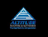 Altitude Roofing & Guttering Logo Concept