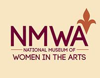 National Museum of Women in the Arts Branding