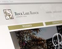 Rock Lake Ranch Website Design
