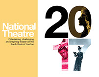 National Theatre Brochure London