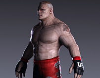 Brock Lesnar / Game Model