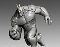'Rhino' Concept Sculpt