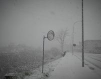 Snowy morning, Laudio