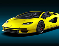 2022 Lamborghini Countach Roadster