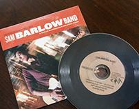 Sam Barlow Band Album Design